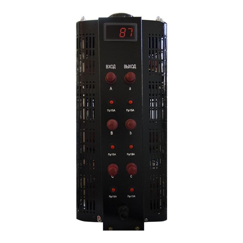 Автотрансформатор (ЛАТР) Энергия Black Series TSGC2-15кВА 15А (0-520V) трехфазный фото