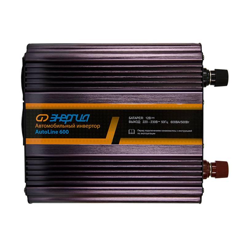 Автомобильный инвертор Энергия AutoLine 600 фото