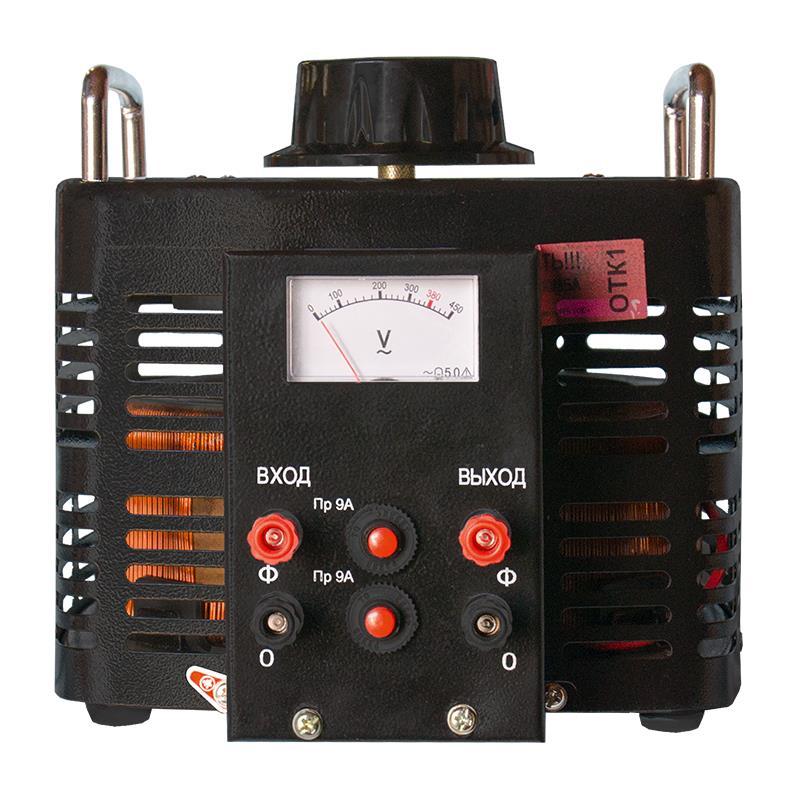 Автотрансформатор (ЛАТР) Энергия Black Series TDGC2-3кВА 9А (0-300V) однофазный фото