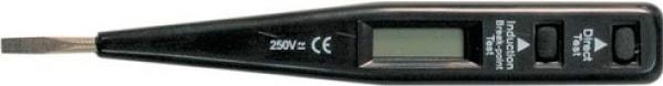 Отвертка-индикатор 6878-28NS ЭНЕРГИЯ (цифровая)Тестеры<br>Цифровая отвертка-индикатор Энергия 6878-28NS предназначена для индикации постоянного и переменного напряжения в диапазоне от 0 до 250 В. Ступени индикации - 12, 36, 55, 110 и 220 В. Данный инструмент облегчает выполнение электромонтажных и электроизм...