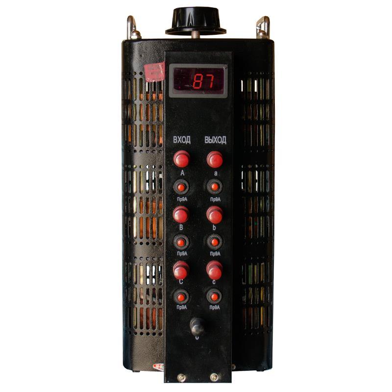 Автотрансформатор (ЛАТР) Энергия Black Series TSGC2-9кВА 9А (0-520V) трехфазный фото