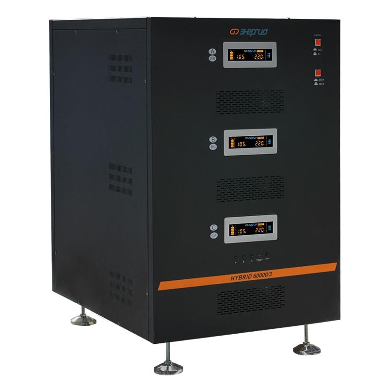 Стабилизатор напряжения Энергия Hybrid 60000 II поколение трехфазный фото