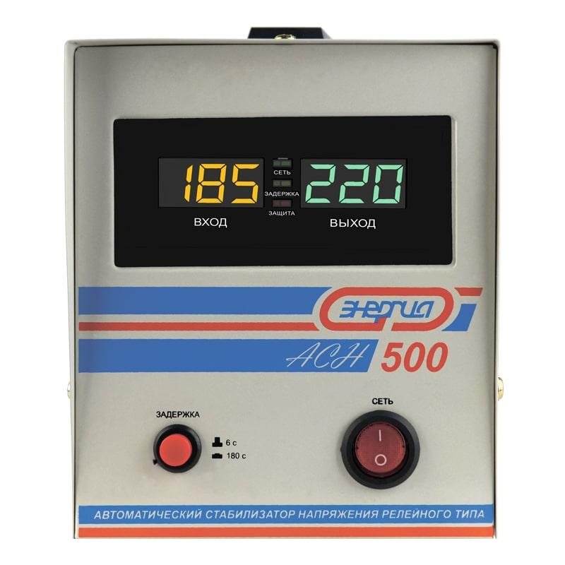 Однофазный стабилизатор напряжения Энергия АСН 500 фото