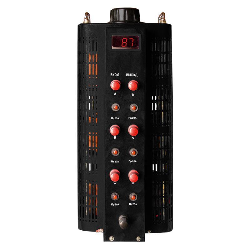 Автотрансформатор (ЛАТР) Энергия Black Series TSGC2-20кВА 20А (0-520V) трехфазный фото