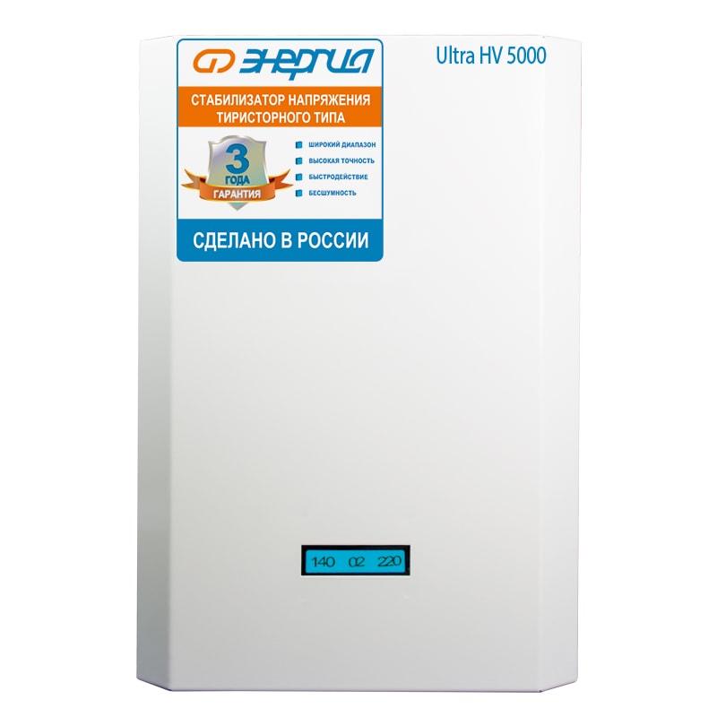 Однофазный стабилизатор напряжения Энергия Ultra 5000 (HV) фото