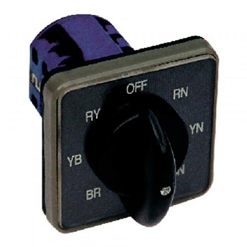 Переключатель кулачковый  CS-68 20A для вольтметра Энергия