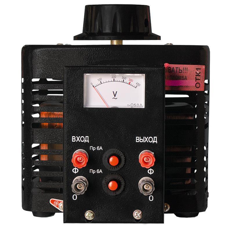 Автотрансформатор (ЛАТР) Энергия Black Series TDGC2-2кВА 6А (0-300V) однофазный фото