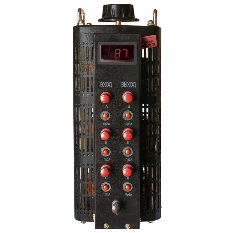 Автотрансформатор (ЛАТР) ЭНЕРГИЯ Black Series TSGC2-3кВА 3А (0-520V) трехфазный