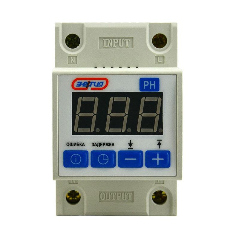 Реле контроля напряжения РН 63А Энергия фото