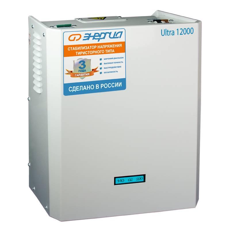 Однофазный стабилизатор напряжения Энергия Ultra 12000 фото