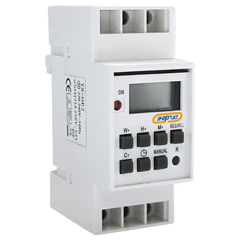 Купить Таймер программируемый недельный TS-GE2 Энергия