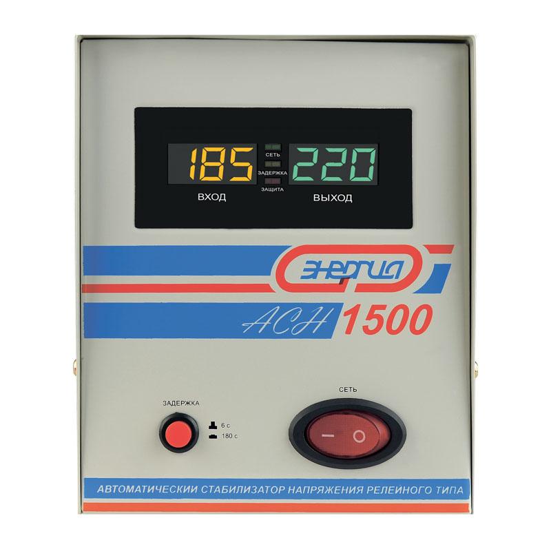 Однофазный стабилизатор напряжения Энергия АСН 1500 фото