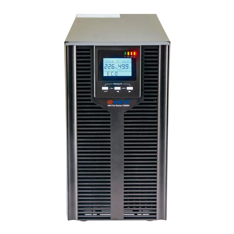 С двойным преобразованием ИБП с двойным преобразованием Энергия ИБП Pro OnLine 12000 (EA-9010H) 192В напольный фото