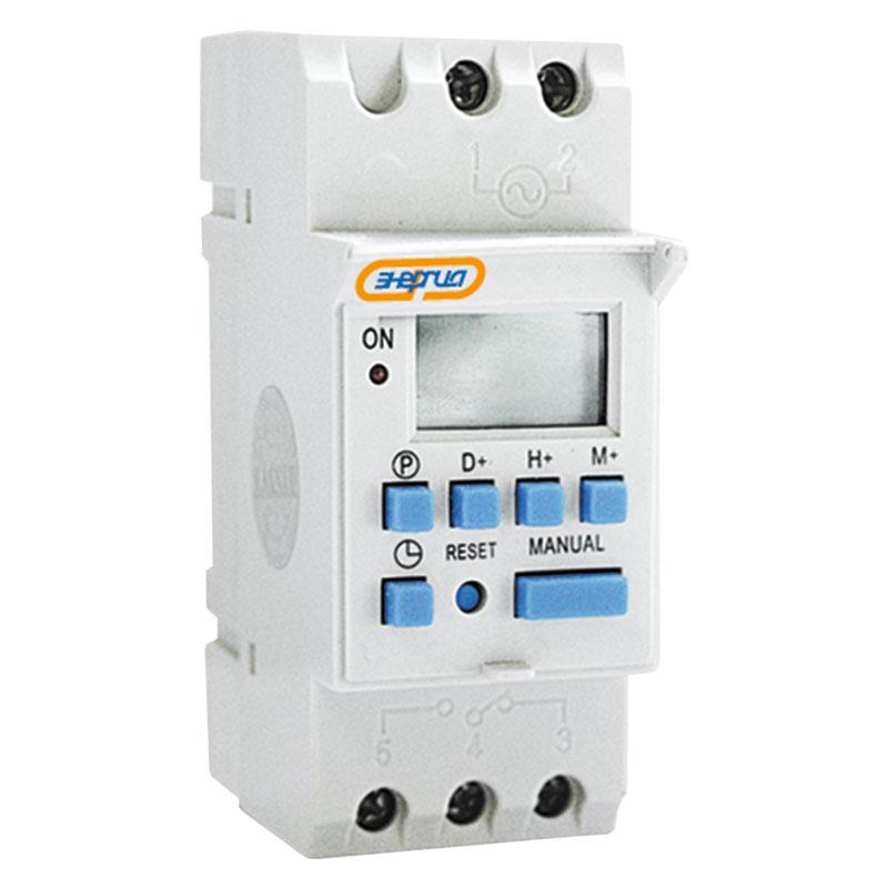 Купить Таймер программируемый недельный THC15A Энергия