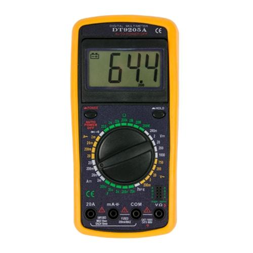 Мультиметр DT 9205A Энергия фото