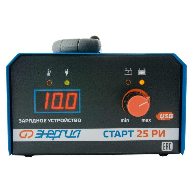 Зарядное устройство для аккумулятора Энергия СТАРТ 25 РИ фото