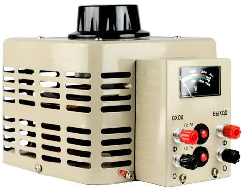 Регулируемый однофазный автотрансформатор (ЛАТР) Энергия TDGC2-0.5k (0.5 кВА) фото